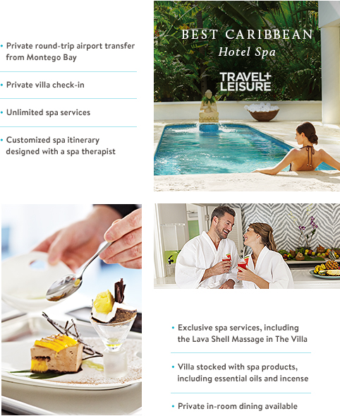 Best Caribbean Hotel Spa